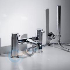 Double handles Bath Shower Mixer