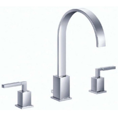 3 Holes Basin bath Mixer
