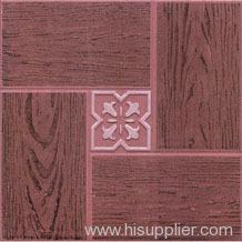 Glazed Ceramic Parquet Floor Tile