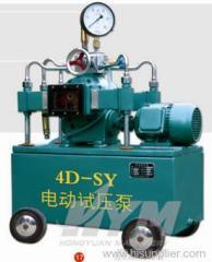 Electric hydraulic test pump