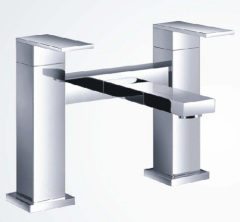 Square Bath Filler Taps