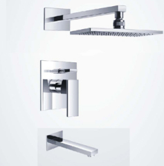 Wall Mounted Square Shower Mixer