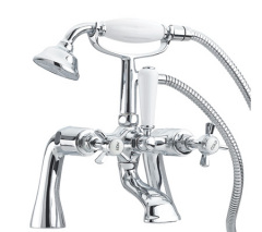 Deck Mounted traditional Bath Shower Mixer