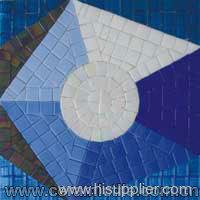 Glass Art Mosaic, Mosaic Art Pattern, Glass Mosaic