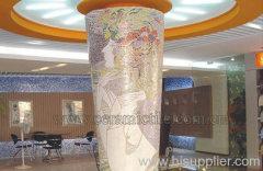 Glass Mosaic Wall Tile, Glass Wall Mosaic