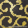 Stained Glass Mosaic Pattern, Glass Mosaic