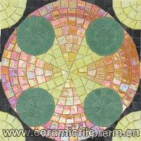 Art Pattern Crystal Glass Mosaic