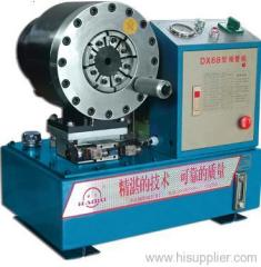 Pipe locking machine