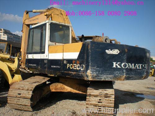 KOMATSU PC200-3 EXCAVATOR from China manufacturer - Shanghai HM Used