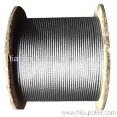 black steel wire rope