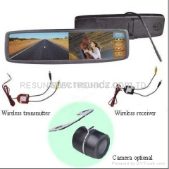 2.4GHz Wireless Car Rear View Camera System