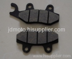 motorcycle disc brake pad