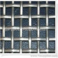 cold galvanized steel crimped wire mesh