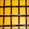 pvc coated steel cirmped wire mesh