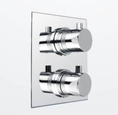 Double handles Thermostatic shower Valves