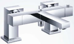 Deck mounted Thermostatic Bath shower Mixer