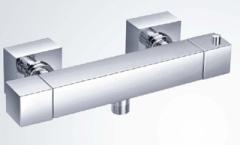 Brass Thermostatic bar valve