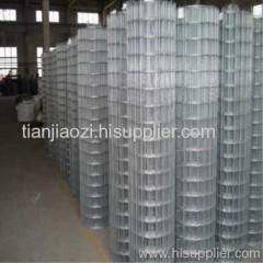 Cold galvanized welded wire mesh