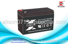 12 Volt 7.5ah SLA Battery