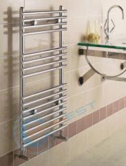 Chrome Flat Heated Towel Radiator