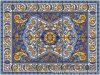 Art Floor Tile Pattern