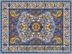 Art Floor Tile Pattern