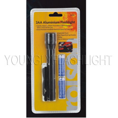portable flashlight set