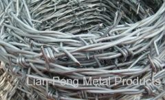 Barbed Mesh Fence
