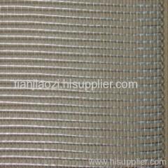 Galvanized window screening