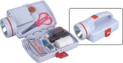 First Aid Kits with Flashlight