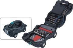 Car Shape Tool Set with Flashlight