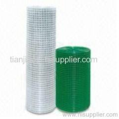 Plastic Coated Welded mesh Fence