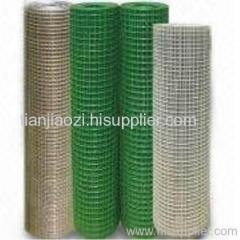 Pvc coated welded netting