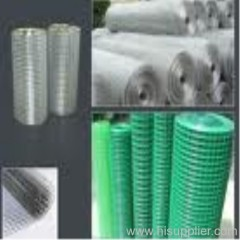 plastic coated welded wire mesh