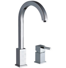 Square Single Lever basin Kitchen Mixer