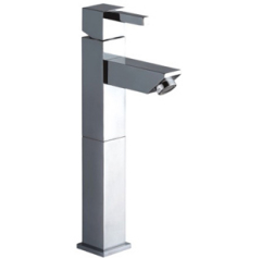 Square Single Lever High Basin Mixer