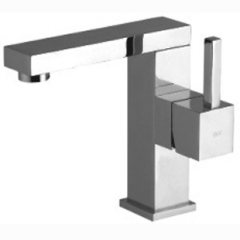 Single Lever Square Mono Basin Mixer