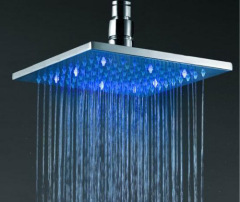 Square LED Shower Head