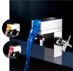 LED Waterfall Basin Faucet