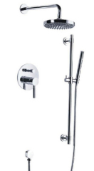 Concealed Shower Faucet with sliding kits