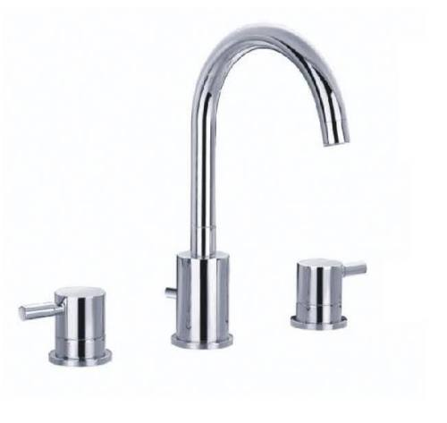 3 holes Basin Faucets