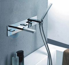Luxury bath shower mixer set