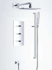 Square Bathroom Shower mixer with kits