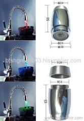 faucet mixer light