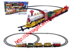 Battery Operated Christmas Classic Train Toy Set