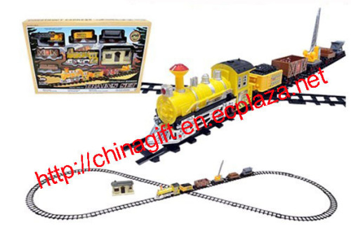 Battery Operated Construction Classic Train Toy Set
