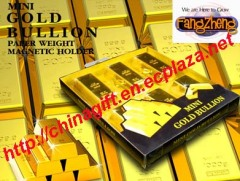 Gold Bullion Magnetic Holder
