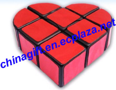 Love heart Rubik's Cube