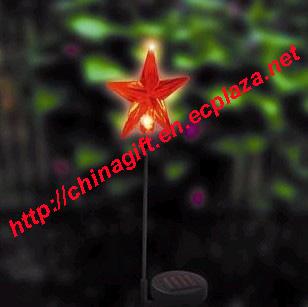Solar garden lamp - Star