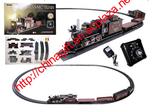 Electric Speed Change Classic Freight Train Set